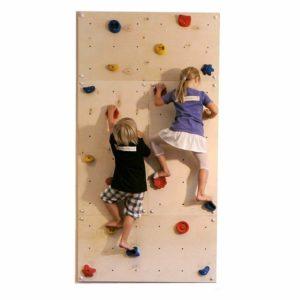 Indoor Kletterwand IW4 240 x 120 cm mit 20 Klettersteinen von Gartenpirat