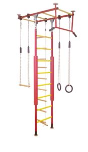 Kletterdschungel Sprossenwand Indoor Klettergerüst, in vielen Varianten und Farben (zweifarbig)