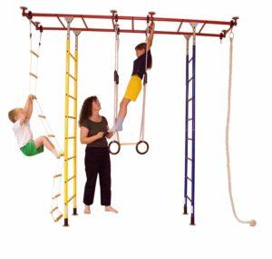 Kletterdschungel Sprossenwand Indoor Spielturm Brücke standard, in drei Größen